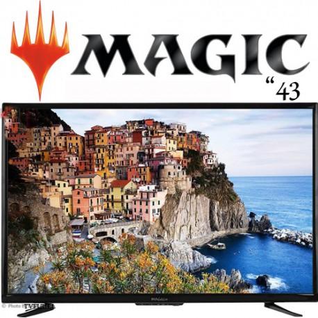 تلویزیون 43 اینچ مجیک مدل MT43D2100