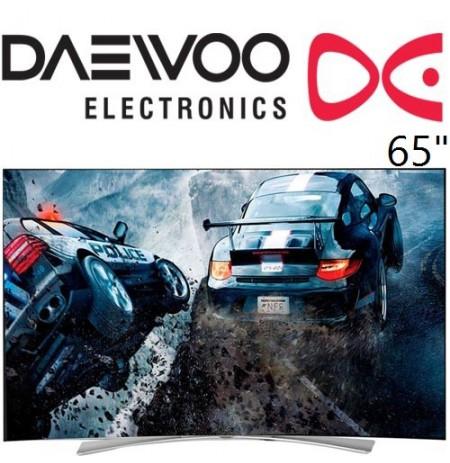 تلویزیون دوو 65 اینچ منحنی مدل 9000