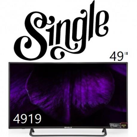 تلوزیون 49 اینچ اسمارت اندروید سینگل