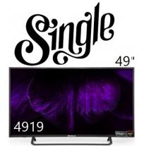تلویزیون 49 اینچ اسمارت اندروید سینگل