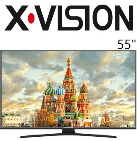 تلویزیون ایکس ویژن 55 اینچ مدل 55xtu615