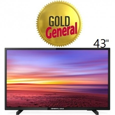 تلویزیون جنرال گلد سایز43 اینچ مدل 43