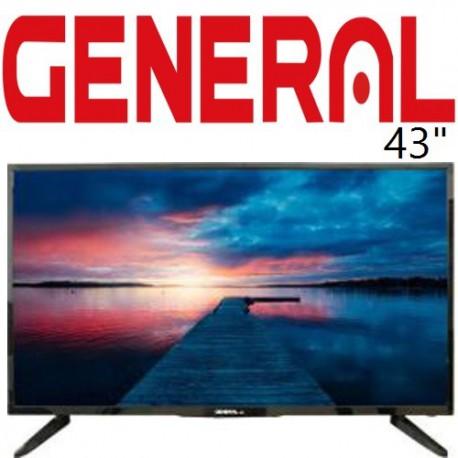 تلویزیون جنرال مدل 4500 سایز 43 اینچ