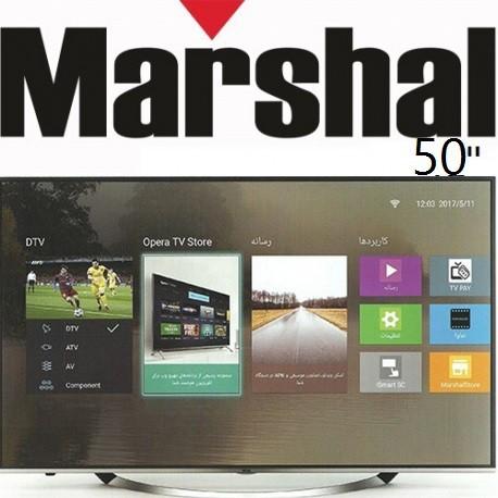تلویزیون 50اینچ مارشال