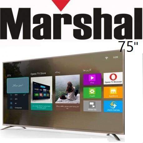 تلویزیون مارشال اسمارت سایز 75 اینچ مدل7501