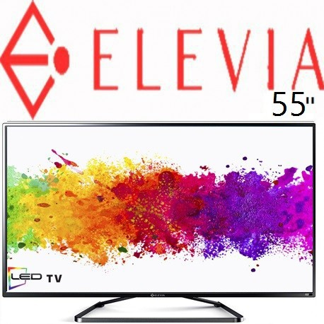 تلویزیون الیویا سایز 55 اینچ اسمارت مدل 55C1S