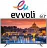 تلویزیون ایوولی سایز 60 اینچ مدل 300