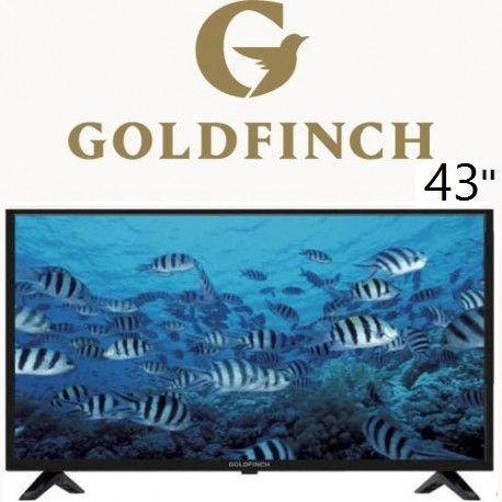 تلویزیون گلد فینچ 43 اینچ مدل 520