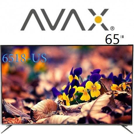 تلویزیون آواکس سایز 65 اینچ مدل 6518