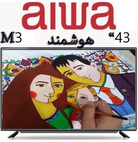تلویزیون آیوا هوشمند 43 اینچ مدل 300