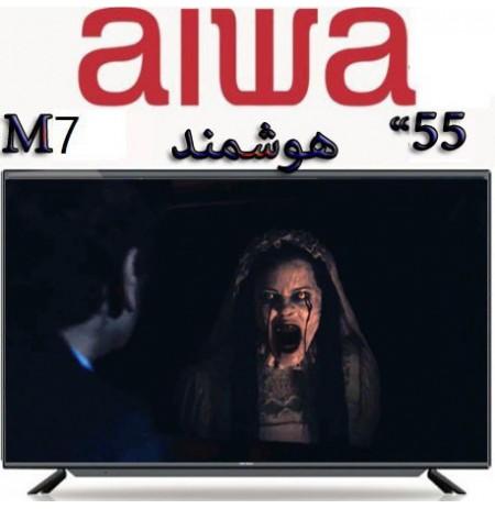 تلویزیون آیوا سایز 55 اینچ مدل فورکی هوشمند