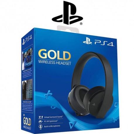 هدست Gold کنسول PS4