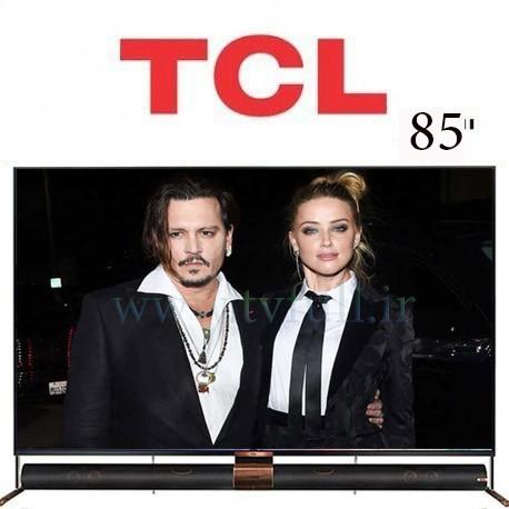 تلویزیون تی سی ال مدل 85x6us سایز 85 اینچ
