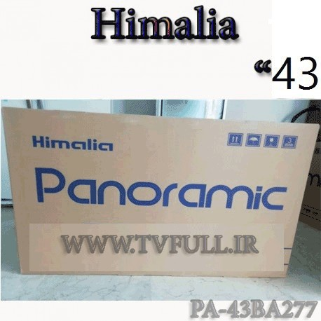تلویزیون پانورامیک هیمالیا 43 اینچ مدل 277