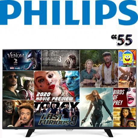 تلویزیون اسمارت 55 اینچ فیلیپس 55PFT6100