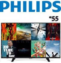 تلویزیون اسمارت 55 اینچ فیلیپس مدل 55PUT7032