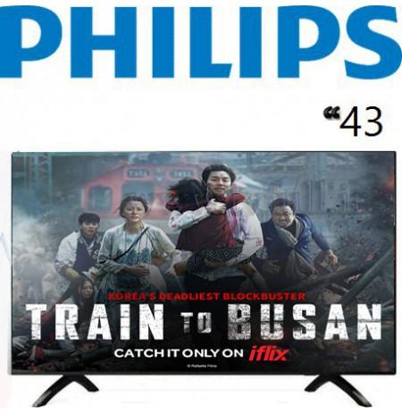 تلویزیون فیلیپس 43 اینچ مدل 43PUT6002