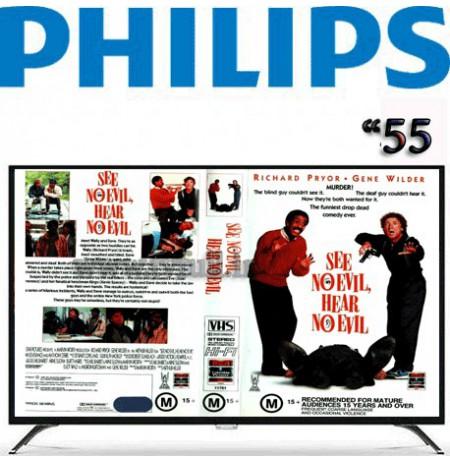 تلویزیون فیلیپس 55 اینچ مدل 55PUT6002