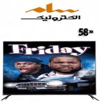 تلویزیون سام الکترونیک 58 اینچ مدل 6550