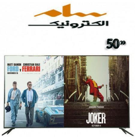 تلویزیون سام الکترونیک سایز 50 اینچ مدل 5500