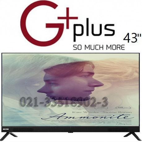 تلویزیون جی پلاس سایز 43 اینچ مدل 612