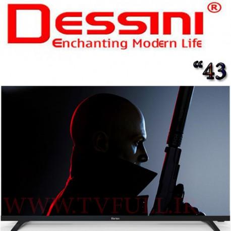تلویزیون دسینی سایز 43 اینچ مدل AT4319