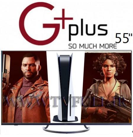 تلویزیون جی پلاس سایز 55 اینچ مدل 821