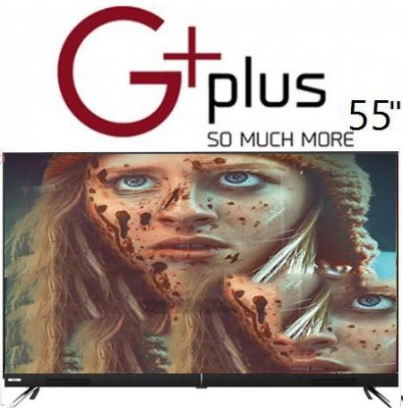 تلویزیون جی پلاس سایز 55 اینچ مدل 722