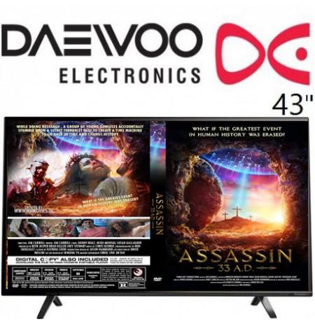 تلویزیون دوو سایز 43 اینچ مدل 4410
