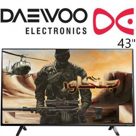تلویزیون ال ای دی دوو سایز 43 اینچ مدل 4111