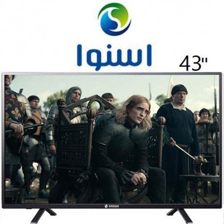 تلویزیون اسنوا سایز 43 اینچ مدل 1260