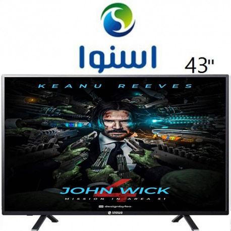 تلویزیون ال ای دی اسنوا سایز 43 اینچ مدل330