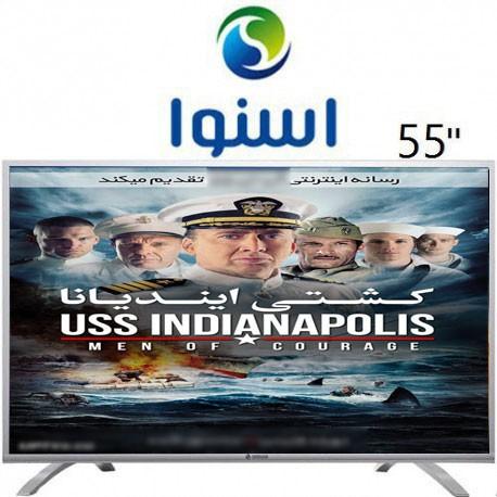 تلویزیون اسنوا ال ای دی سایز 55 اینچ مدل 1260