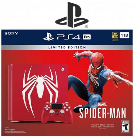 کنسول پلی استیشن 4 پرو باندل Spider-Man