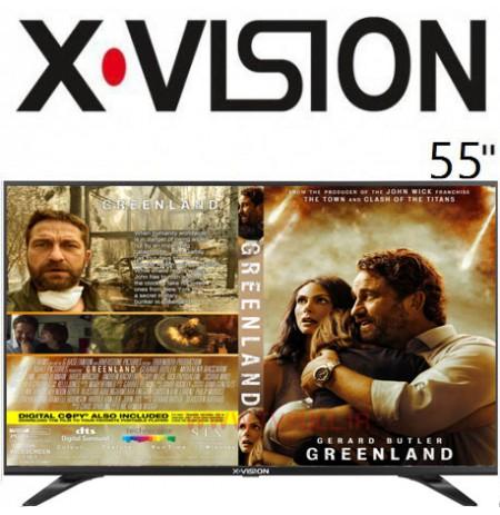تلویزیون ایکس ویژن سایز 55 اینچ مدل 55XT540
