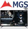 تلویزیون ام جی اس 50 اینچ مدل 6000