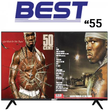 تلویزیون بست سایز 55 اینچ مدل BUS55