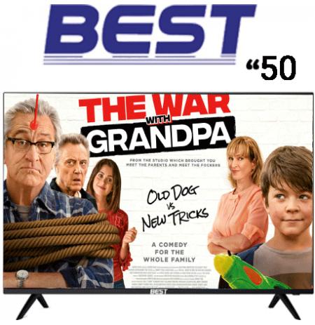 تلویزیون هوشمند 50 اینچ BEST مدل BUS50