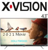تلویزیون ایکس ویژن 43 اینچ مدل 735