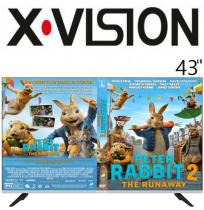 تلویزیون ایکس ویژن سایز 43 اینچ مدل 43XC580