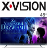 تلویزیون ایکس ویژن اسمارت سایز 49 اینچ 745
