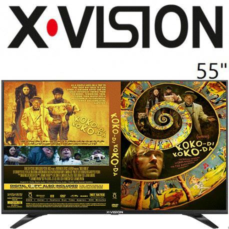 تلویزیون ایکس ویزن 55 اینچ 530