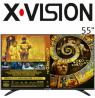 تلویزیون ایکس ویژن سایز 55 اینچ مدل 530