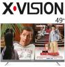 تلویزیون ایکس ویژن 49 اینچ مدل 49XTU725