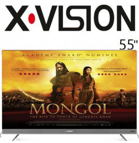 تلویزیون ایکس ویژن 55 اینچ مدل 55XTU725