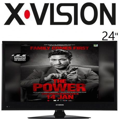 تلویزیون ایکس ویژن 24 اینچ مدل 24XS450