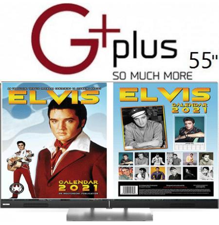 تلویزیون جی پلاس هوشمند 55 اینچ 721