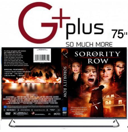 تلویزیون led جی پلاس 75 اینچ مدل GTV-75LQ921S