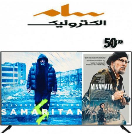 تلویزیون سام الکترونیک ۵۰ اینچ مدل 6550