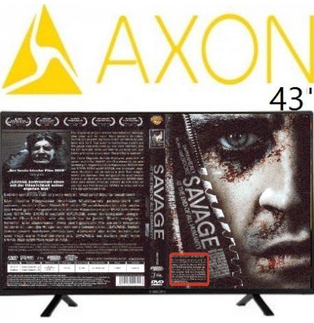 تلویزیون ال ای دی آکسون 43 اینچ مدل 4311